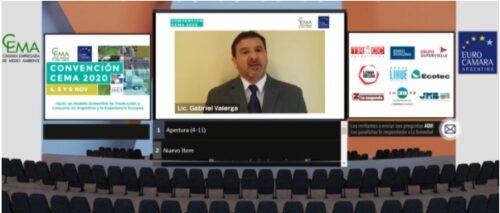 """Gacetilla – Convención 2020 """"Hacia un Modelo Sostenible de Producción y Consumo en Argentina. La Experiencia Europea"""""""
